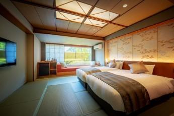 福島県・磐梯熱海温泉 「萩姫の湯 栄楽館」 「居心地の良さ」をかなえる 18 室の新・和モダン客室 2021年8月にリニューアルオープン