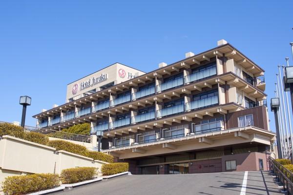 飯坂ホテルジュラク全景