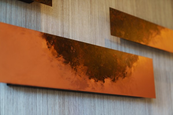 錫を使⽤した装飾(客室)